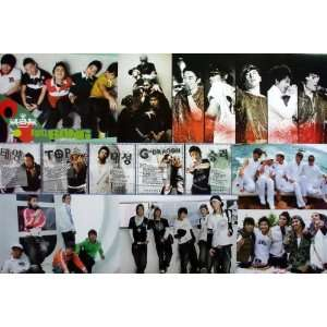 Big Bang Bigbang Korean Boy Band Pop Dance Music Wall