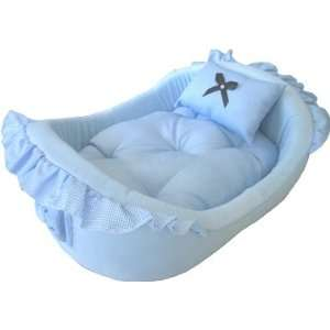 Pampered Pet ~ Blue Dog Bed