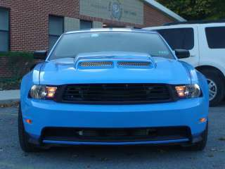 05 09 Ford Mustang FLH Style Functional Ram Air Venom Hood Body Kit