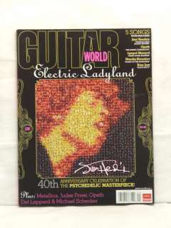 GUITAR WORLD MAGAZINE JIMI HENDRIX JUDAS PRIEST METALLICA DEF LEPPARD