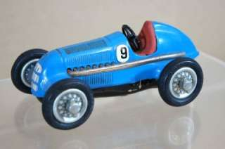 SCHUCO STUDIO 1050 MERCEDES BENZ RACING CAR CLOCKWORK US Zone GERMANY