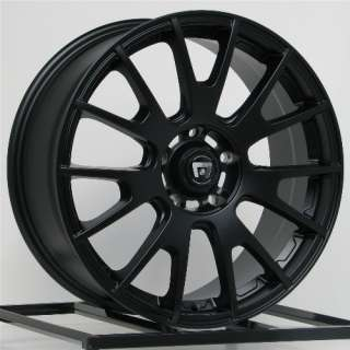 18 Inch Wheels Rims Black Honda Accord Civic Ford Edge Escape Flex