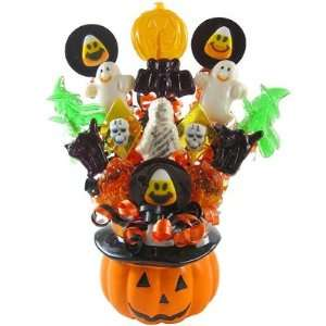 Witches Brew Halloween Candy Bouquet Grocery & Gourmet Food