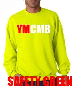 New YMCMB Young Money Cash Money Lil Wayne Weezy Drake Crew Neck Sweat