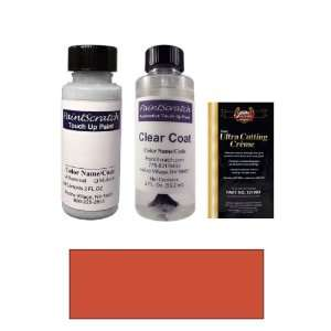 2 Oz. English Red Paint Bottle Kit for 1976 Mercedes Benz All