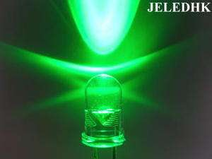 New 100X 5MM Super Bright Green LED Lamp 38,000mcd