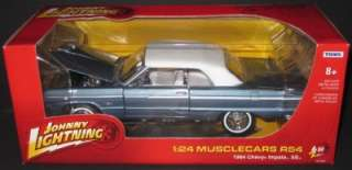 JOHNNY LIGHTNING 1964 Chevy Impala SS 124 scale die cast Release 54