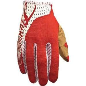 FLY LITE RACE GLOVES RED/WHITE SZ Automotive