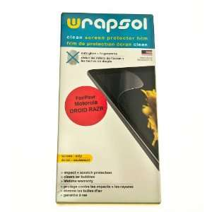 Wrapsol CLEAN Anti Fingerprint Screen Protector for