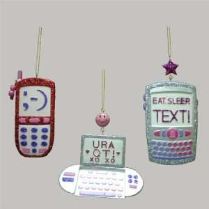 Club Pack of 12 Tween Christmas Cell Phone with Text Message Holiday