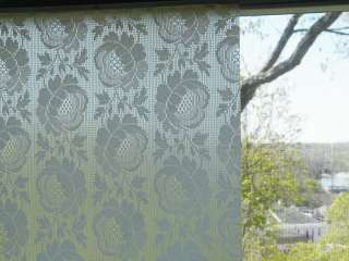 ANTIQUE LACE FAUX Stained Glass Window Film 6 ft.