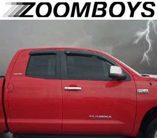 Stampede Truck Window smoke vent tinted Shades Visors Rain Guards