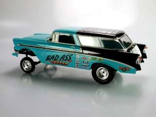 56 Chevy Nomad Gasser,Drag Car,Hot Rod, Slot Car 1/25