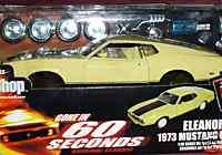 1973 FORD MUSTANG MACH 1 MODEL KIT GONE IN 60 SECONDS