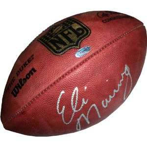 Sports Eli Manning Autographed NFL Duke Football Toys & Games