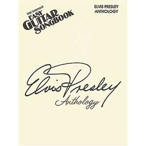 Elvis Presley Anthology   Easy Guitar Song Book