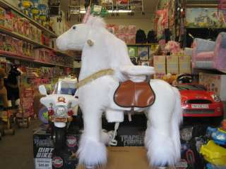 New LOVELY ANGEL UNICORN Rocking Walking Ride On Horse Riding Pony Age