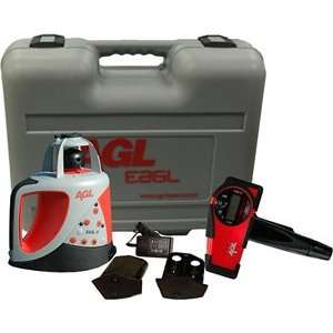 AGL EAGL H Horizontal Self Leveling Rotary Laser Level Package 1 16723