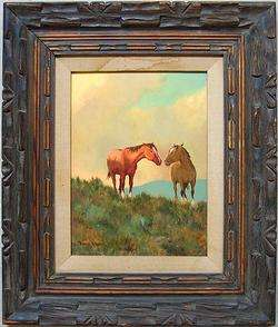 ROBERT B. WAGONER Signed Original Western Oil   LISTED