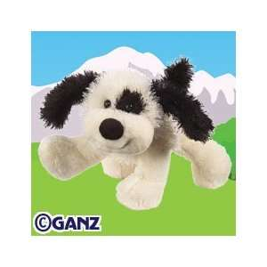 Webkinz Virtual Pet Plush   BLACK & WHITE CHEEKY DOG
