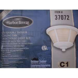 Harbor Breeze/Westinghouse Indoor/Outdoor Ceiling Fan Lighthouse Light