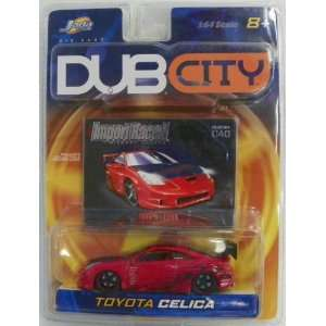 Jada Toys 1/64 Scale Diecast Dub City Import Racer Toyota Celica No
