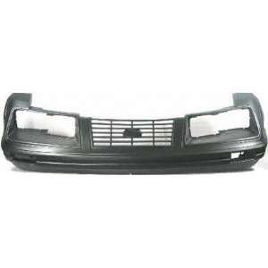 83 84 FORD MUSTANG FRONT BUMPER COVER, Raw, Except GT Model, CAPA