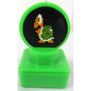 Super Mario Brothers Mini Stamp Koopa Troopa Gashapon   Epoch Japan
