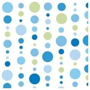 Classic Collection Blue Dot Line Changing Pad Cover Baby