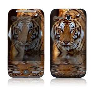 HTC Freestyle Decal Skin   Fearless Tiger