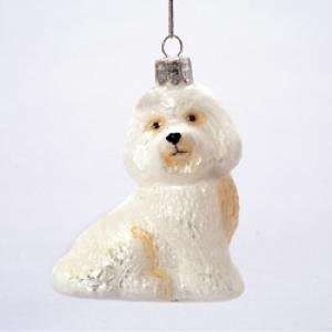 Noble Gems Bichon Ornament