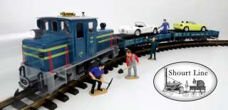 LGB 72520 Auto Transport MTS DCC + Sound Starter Set Special Edition