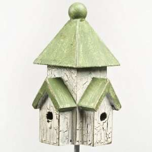 Mini Green Roof Bird House Pick Patio, Lawn & Garden