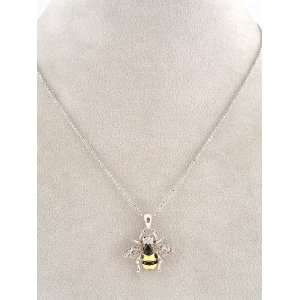 Fashion Jewelry ~ Metal Bee Pendant Necklace Sports