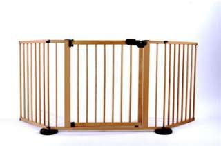 Versa Gate Wide Custom Baby Safety Gate WOOD or WHITE