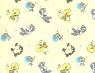 Looney Tunes Baby Boy Girl Crib Bedding Set 7+Mobile