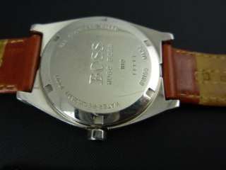 Hugo Boss Movado Swiss Mens Ranger Designer Suit Watch Excellent Gift