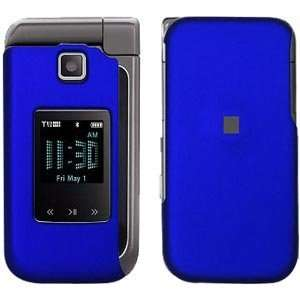 New Amzer Rubberized Blue Snap Crystal Hard Case For