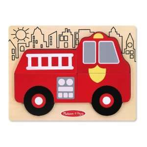 My First Chunky Puzzle   Fire Truck Toys & Games