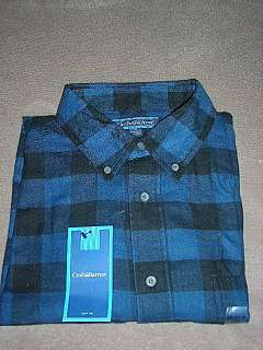 Croft & Barrow Mens Flannel Plaid Shirt~Various colors and sizes~$28