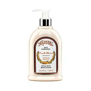 Mistral Shea Butter Body Lotion   Vanilla Apricot 10.14 oz