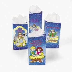 Happy Birthday Jesus Bags   Party Favor & Goody Bags & Paper Goody