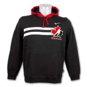 Team Canada IIHF TKO Performance Full Zip Hoodie (Red