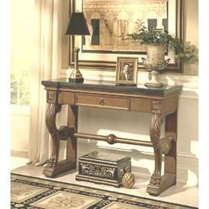 Heritage Stone Top Console Table
