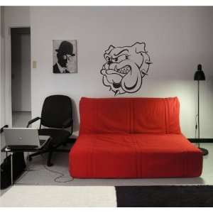 BULDOG PITBULL DOG Wall Decor Vinyl Decal Sticker 01