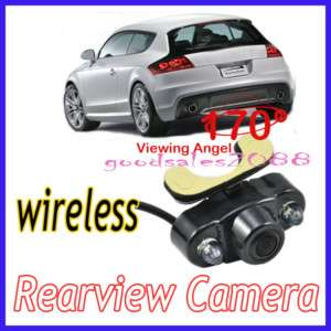Night Vision Type Color Wireless Car Rear View Camera