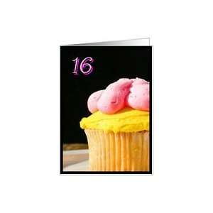 Happy 16th Birthday muffin Card Toys & Games