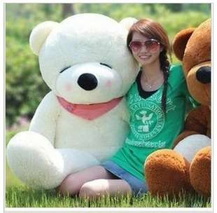 HOT GIANT 39 BIG PLUSH SLEEPY TEDDY BEAR HUGE SOFT TOY 3 Color 100CM