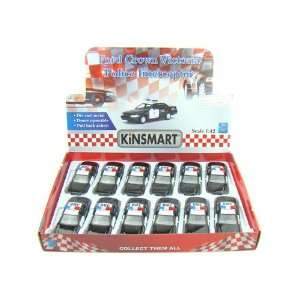 Set of 12   Ford Crown Victoria Police Interceptor 1/42