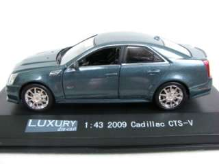 Luxury Diecast 2009 Cadillac CTS V 1/43 Diecast Cars